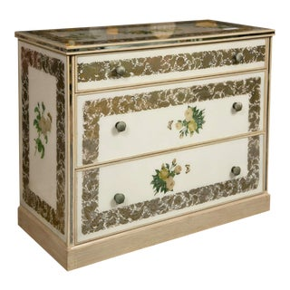 Art Deco Style Mirrored Chest of Drawers