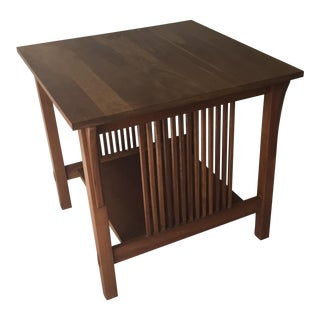 Stickley Mission Cherry Side Table