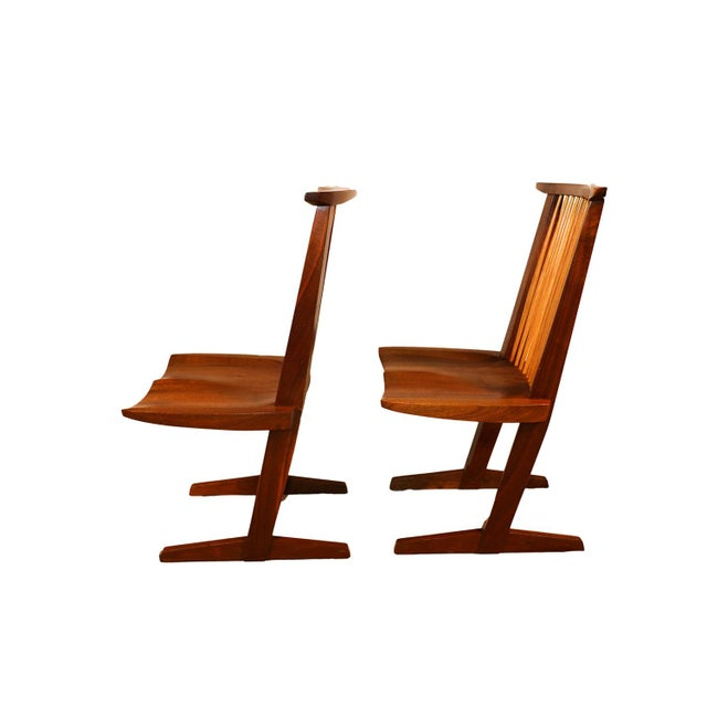 George Nakashima Conoid Chairs - A Pair - Image 4 of 11