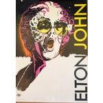 Image of Original Vintage Polish Elton John Poster