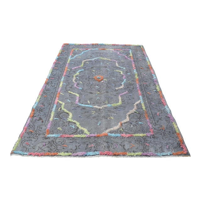 Turkish Oushak Rug - Image 1 of 6