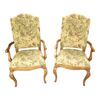 Ethan Allen Maison Dining Chairs - A Pair