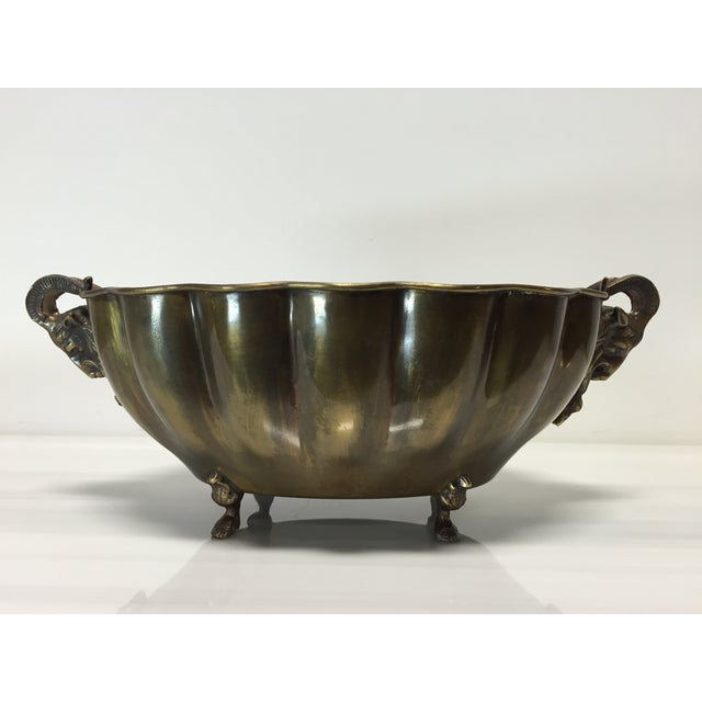 Brass Goat Head Bowl - Image 5 of 10