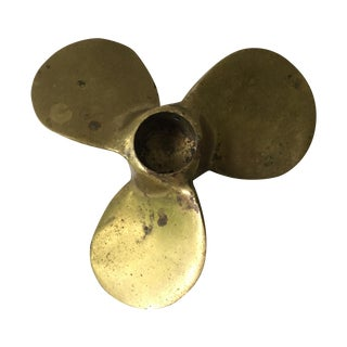 Decorative Brass Propeller