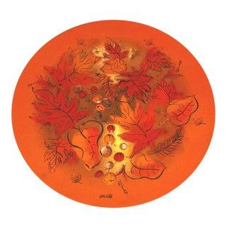 Mid Century Sasha Brastoff Charger Plate Platter