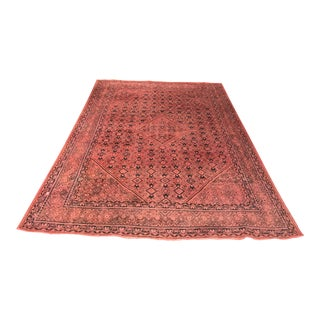 "Vintage Turkish Overdyed Rug - 9'8"" x 12'10"""