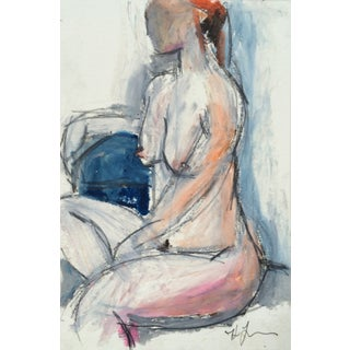Portrait of a Seated Woman by Heidi Lanino