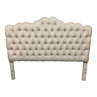 Tufted Linen Full Size Headboard