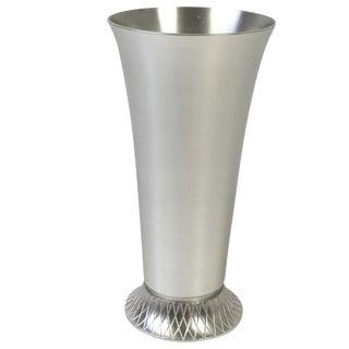 1930s Deco Kensington Aluminum Vase