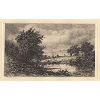Etching by Hendrick Dirk Kruseman Van Elten c.1880