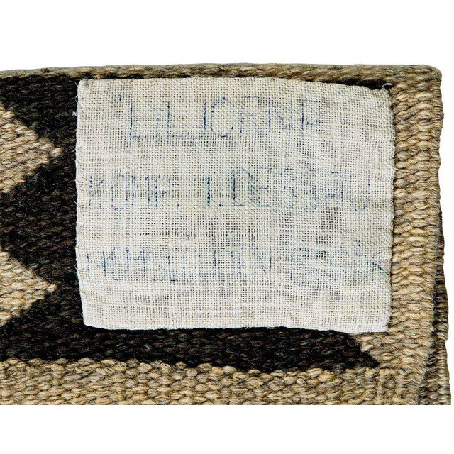 Vintage Ingrid Dessau Flat-Weave Swedish Carpet - Image 7 of 7