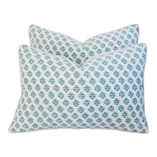 Designer Italian Fortuny Persiano Pillows - a Pair