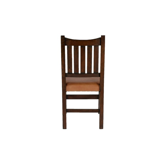Mission Limbert Style Dining Chairs - 8 - Image 5 of 5