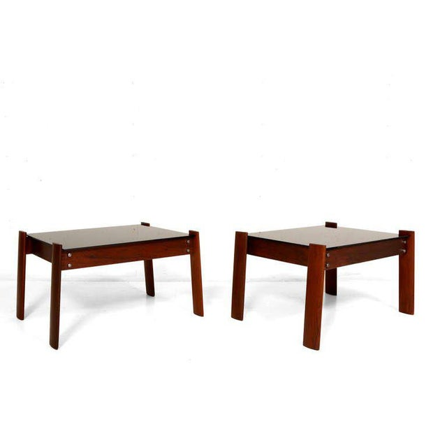 Pair of Percival Lafer Side Tables - Image 3 of 5