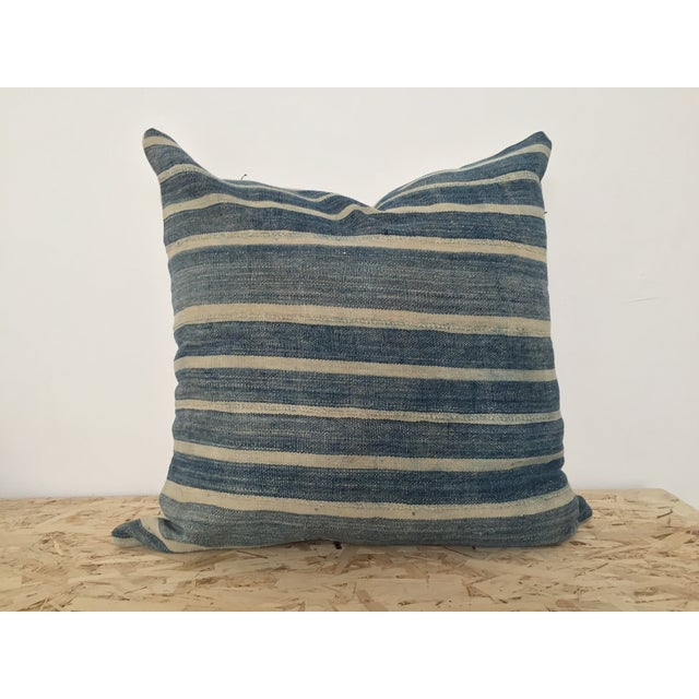 Image of Indigo Cloth Large Pillow