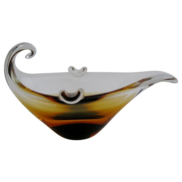 Murano Glass Ashtray - Image 1 of 7