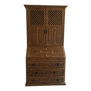 Antique Spanish Secretary Desk