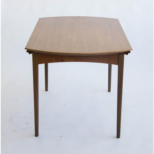Dux of Sweden Round Drop Leaf Dining Table - Image 3 of 10