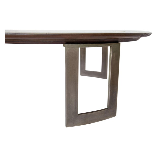 Vintage Travertine Coffee Table - Image 5 of 8