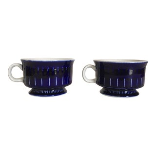 Arabia of Finland Valencia Coffee Cups - Pair