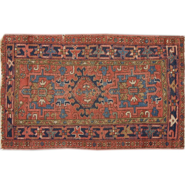 "Antique Apadana - Karajah Rug - 2'10"" X 4'5"" - Image 1 of 3"