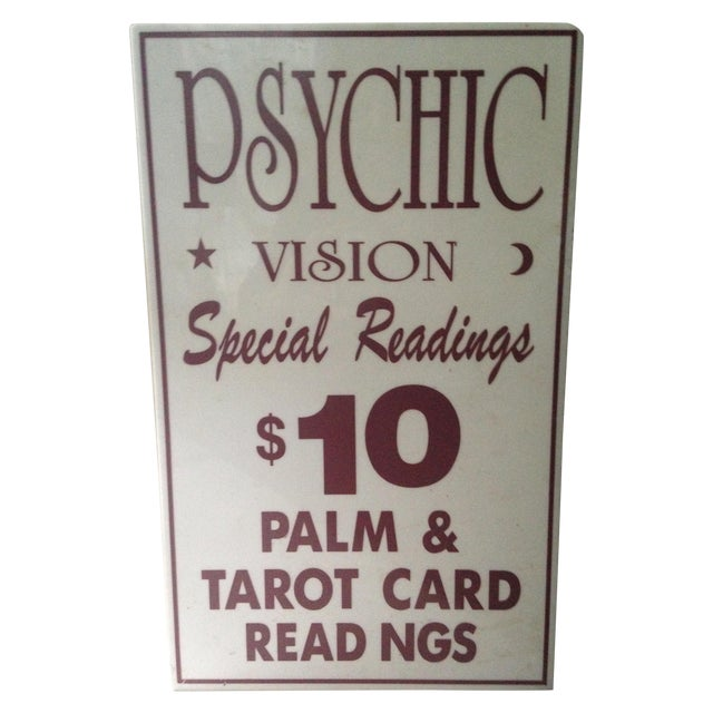 Image of Psychic Sign
