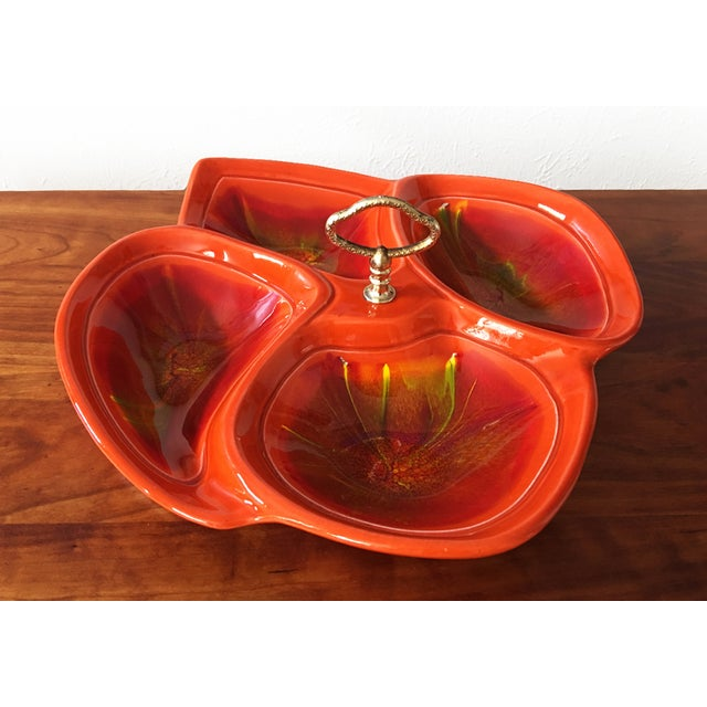 Mid Century Divided Serving Dish - Image 2 of 6