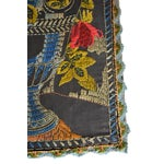 Image of Antique Embroidered Tapestry