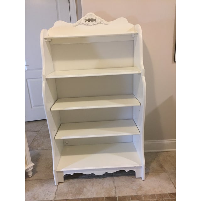 Stanley Furniture Shabby Chic Antique White Children's Bookcase - Image 9  ... - Stanley Furniture Shabby Chic Antique White Children's Bookcase