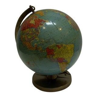 """Vintage Reploge 12"""" Library Globe"""