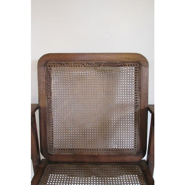 Image of Vintage 1920s Mission Style Armchair