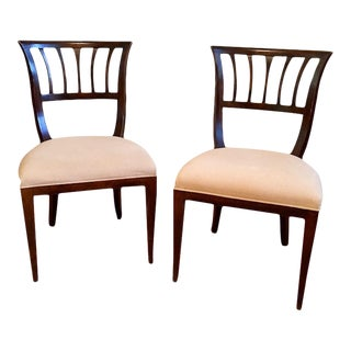 Milling Road Brown Chairs - A Pair