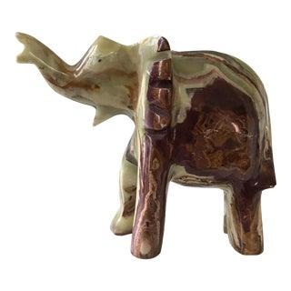 Polished Onyx Elephant