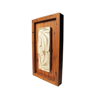 Lee Rosen for Design Technics Shadow Box Mounted Tile Relief
