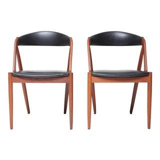 Kai Kristiansen Model 31 Dining Chairs - A Pair