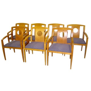 Scan Design Armed Dining Chairs - Set of 8