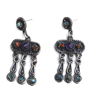 Taxico Mexican Precious Stone Earrings