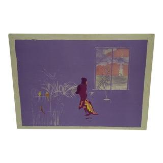 "Carl Hodges ""Mrs. Mortenson"" Limited Edition Print"