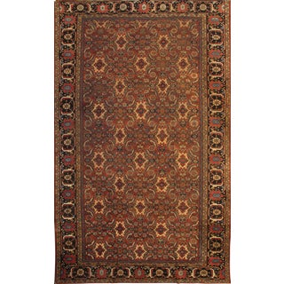 "Pasargad NY Original Persian Sultanabad Hand-Knotted Lamb's Wool Rug - 10'7"" X 17'6"""