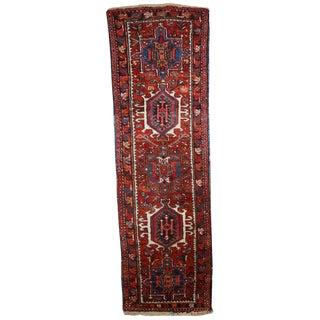 1920s Handmade Persian Karajeh Runner - 1.8' X 6'