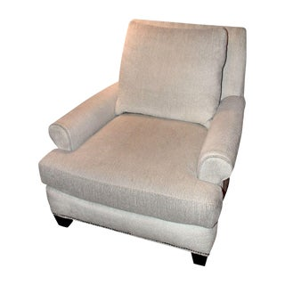 Lee Industries Beige Upholstered Club Chair
