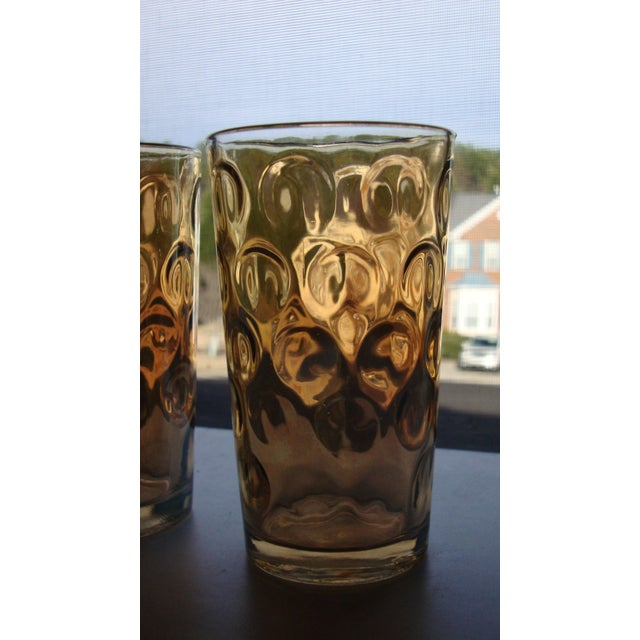 Mid-Century Hollywood Regency High Ball Glasses - Image 5 of 11