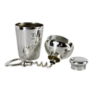 Antique Napier Silver Barware Travel Set