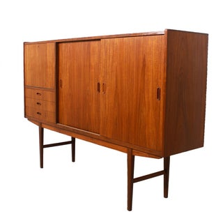 Danish Modern Teak Highboard
