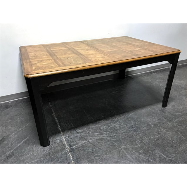 asian style dining table stanley quot kyoto quot vintage asian style dining table chairish 8700