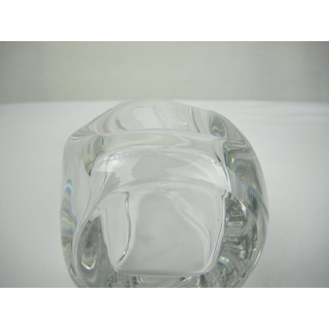 Image of French Daum Crystal Scent Bottle