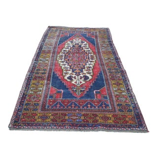 "Traditional Turkish Oushak Rug - 4'8"" x 8'7"""