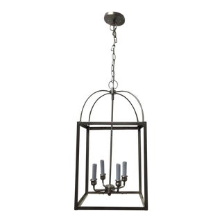 Four Light Pendant in Brushed Nickel - Set of 3