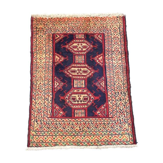Turkaman Persian Rug - 2′ × 2′9″ - Image 1 of 8