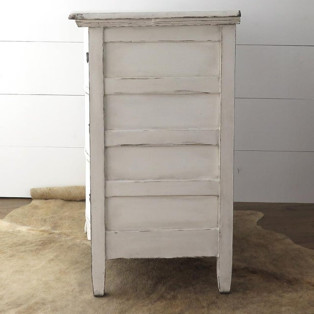 Antique White Painted Chest - Image 7 of 11